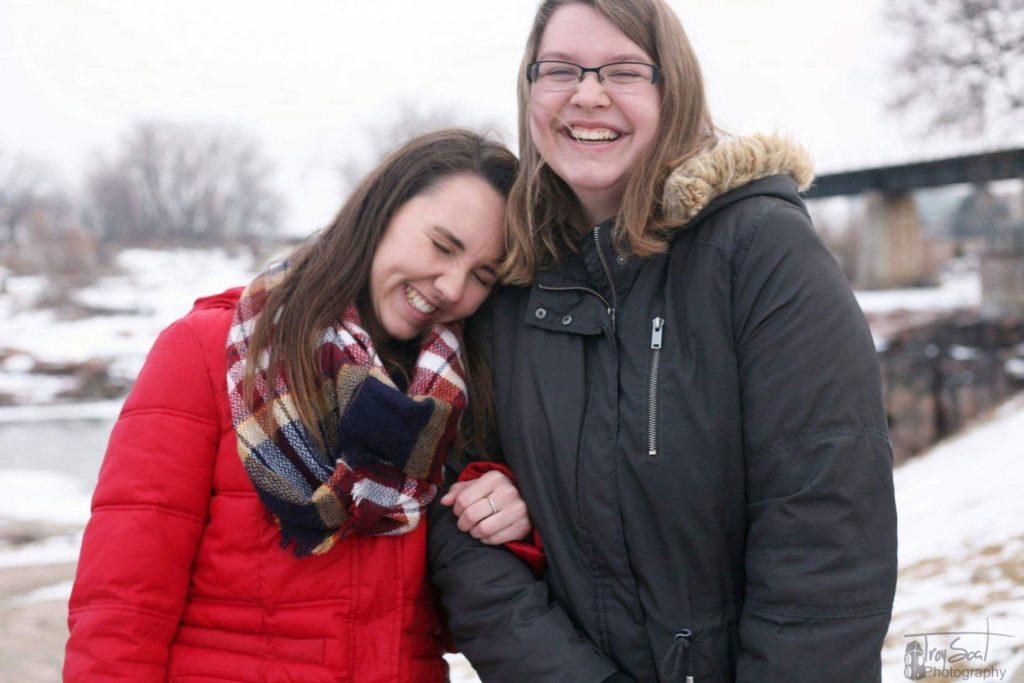 Whitney Norberg and Allison Kneisl